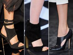 Fall/ Winter 2014-2015 Shoe Trends: High Heel Shoes   #shoes #trends #shoetrends