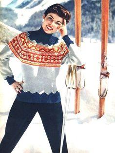 Ski Fashion <3 1954