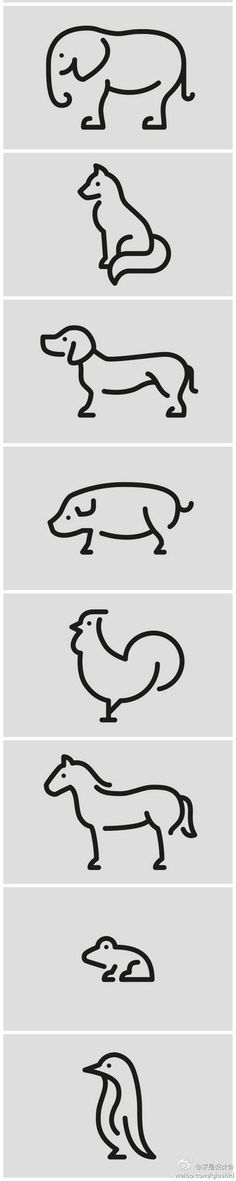 How to draw easy animals