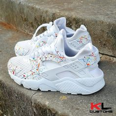 """THESE ARE NOW AVAILABLE ONLINE @ WWW.KLCUSTOMS.BIGCARTEL.COM ❌24 HOURS ONLY❌ #nike #nikeair #airhuarache #huarache #customhuaraches #lacejam #huarachecentral #huaracheheat #maximumhuarache #talkhuarache #igsneakercommunity #kotd #crepecity #angelusshoepolish #angelusdirect"" Photo taken by @klcustoms_ on Instagram, pinned via the InstaPin iOS App! http://www.instapinapp.com (04/04/2015)"