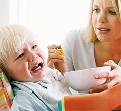 """How To Manage Messy Eating and Food Throwing- Feeding your toddler can be a very messy experience. Like most aggravating toddler behavior, this too shall pass. In the meantime, here are some survival tips. Learn more from """"The Toddler Care Book: A Complete Guide from 1 to 5 Years Old"""" by Dr. Jeremy Friedman."""