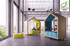 BREAKOUT AREAS! Break-out furniture by Dymitr Malcew