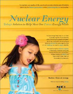 Nuclear Energy: Today's solution to help meet our future energy needs