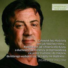 Znani ludzie mówią o Bogu. Rocky Film, Personality Profile, Rocky Balboa, The Expendables, Sylvester Stallone, Film Director, Screenwriting, Portrait Photo, American Actors