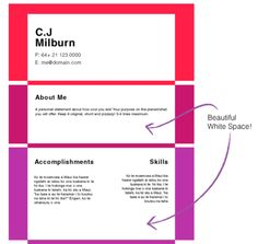 Create your own scrolling Infographic Resume - Create a Great CV