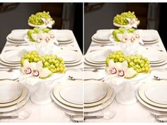 elegant wedding reception decor centerpieces using fruit
