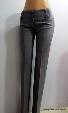 Pantalones De Vestir De Dama 451f35f3325d