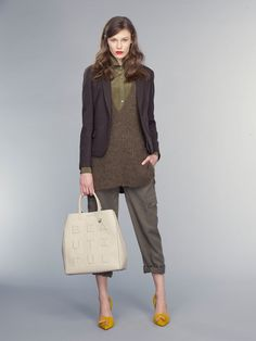 Banana Republic F/W 15: Layers of Perfection via @WhoWhatWear