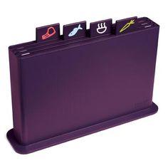 Joseph Joseph Index Advanced Chopping Board Set 5 Pieces Aubergine Kitchen Items, Kitchen Gadgets, Purple Accessories, Chopping Board Set, Purple Kitchen, Purple Interior, All Things Purple, Purple Stuff, Purple Home