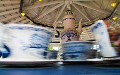 Kahvikupit - Linnanmäki Ferris Wheel, Fair Grounds, Travel, Viajes, Trips, Traveling, Tourism, Big Wheel, Vacations