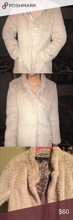 Kenneth Cole faux fur coat Warm, soft, cozy coat.. Excellent condition. Lining is 100% polyester. Faux fur shell. Kenneth Cole brand Kenneth Cole Jackets & Coats Pea Coats