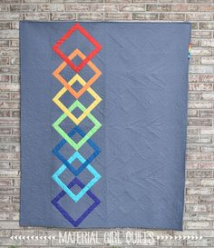 Linked Quilt designed and pieced by Amanda Castor of Mater… | Flickr