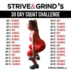 Squat Challenge: Great Workout!