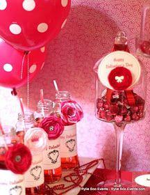 CRUSH Valentine's Day Dessert Table
