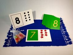 Numbers and Counters Activity:Your child can use the Sandpaper Numbers and Counters Activity to understand numbers and quantity, and do basic addition, subtraction, multiplication and division.  Find more on MontessoriByMom.com