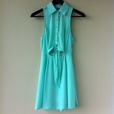 Nasty Gal Light Green Dress Light green dress by Nasty Gal.  Bundle with 2+ more items for an EXTRA 10% OFF your total!!  Follow me on Posh @keirapaisley for new amazingly cute items listed regularly.  Have a beautiful rest of your day!! Nasty Gal Dresses