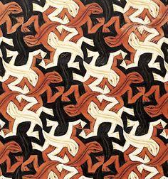 M.C. Escher: Lizard