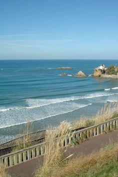 La Côte des Basques à #Biarritz