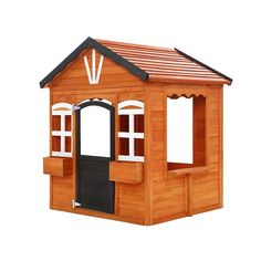 Kids Cubby House Wooden Outdoor Playhouse Timber Childrens Pretend Play  Only AUD$360.36!   Home sweet home. And for your kids, it definitely is with our Keezi Wooden Cubby House. Built from sturdy Fir wood, this cottage playhouse is a great way for kids to learn about practical life and social skills. Besides all the fun of house pretend play, kids can also use it as their own little cubby place to develop friendships or work on creative projects. Everything about the playhouse is made chi