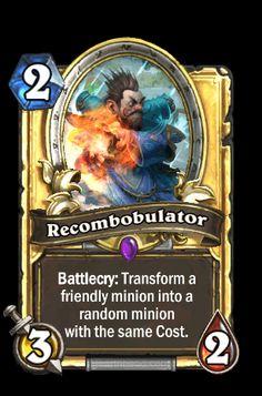 "hearthstone recombobulator | ... from "" http://hearthstone.wikia.com/wiki/Recombobulator?oldid=15826"