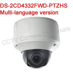 416.00$  Watch now - http://ai6d5.worlditems.win/all/product.php?id=32654386909 - Free shipping DS-2CD4332FWD-PTZHS 3MP Smart PTZ Outdoor Dome IP security Camera with built-in heater