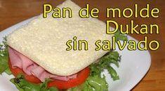 Dieta Dukan | Contigo paso a paso. Recetas, información y guia.: PAN DE MOLDE DUKAN SIN SALVADOS - RECETA FASE ATAQ...