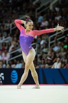 Maggie Nichols 2016 Olympic Trials Gymnastics Poses, Amazing Gymnastics, Artistic Gymnastics, Gymnastics Girls, Gymnastics Leotards, Maggie Nichols, Olympic Trials, Female Gymnast, Body Reference