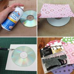 Artesanía con CDs ideas e inspiración