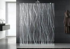 box de vidro jateado