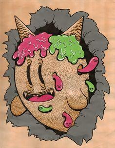 「ice cream monster」的圖片搜尋結果