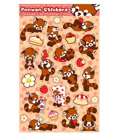 Sugar Bunny Shop - Ponwan Sticker Sheet
