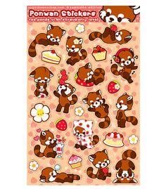 Sugar Bunny Shop - Ponwan Sticker Sheet