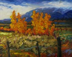 "Dee Sanchez, ""Taos Mountain in Fall"" Art Paintings For Sale, Mountain, Fall, Landscapes, Spaces, Colors, Autumn, Paisajes, Scenery"