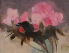 The Athenaeum - Flowers (Helene Schjerfbeck - ) Helene Schjerfbeck, Painter Artist, Galerie D'art, Pretty Art, Painting Inspiration, Art Images, Flower Art, Illustration Art, Fine Art