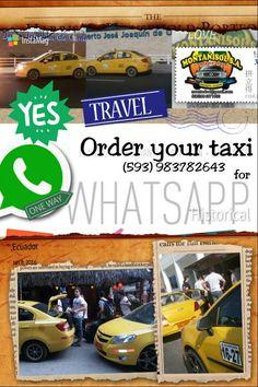 Taxis por whatsapp .....Contáctanos !