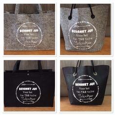 Hier vind je diverse tassen met een leuke opdruk.