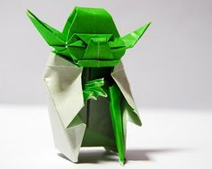 I have an aversion to Yoda, but I'm kind of smitten with Origami Yoda