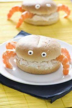broodje garnalensalade - leuk voor een verjaardag