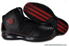 Adidas AdiZero Derrick Rose 3.5 Black Red Outlet