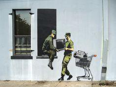 #Banksy wisely mistrusts.