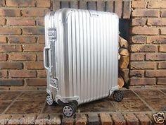 Rimowa Topas Multiwheel Carry on Spinner 45L Aluminium New   eBay