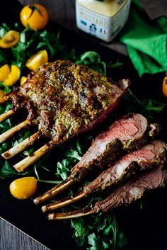 Dijon Herb Roasted Rack of Lamb - 17 Easter Dinner Ideas for an Everlasting Family Feast