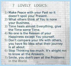 7 Lovely Logics