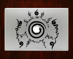 "Naruto seal icon Symbol Decal Sticker Vinyl For Macbook Pro/Air 13"" Inch 15"" Inch 17"" Inch Laptop Cover"