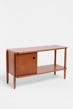 Cool but everyone will soon have an apartment that looks like Joseph Gordon-Levitts's apartment on 500 Days of Summer. I will stay away from Urban Outfitters furniture.     Henry Media Console