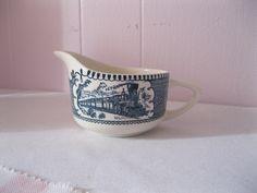 Vintage Crémier   Currier & Ives de la boutique Roselynn55 sur Etsy