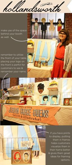Love the look of this display.  www.missmegshop.etsy.com