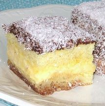 This recipe for Croatian lamingtons or cupavci is made with sponge cake, custard, chocolate and coconut.
