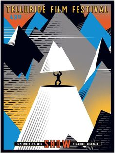 Here's the poster for this year's Telluride Film Festival.