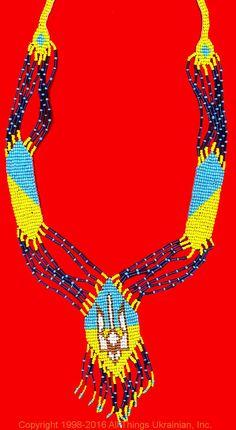 Gherdany Bead Jewelry # GN16180 on AllThingsUkrainian.com